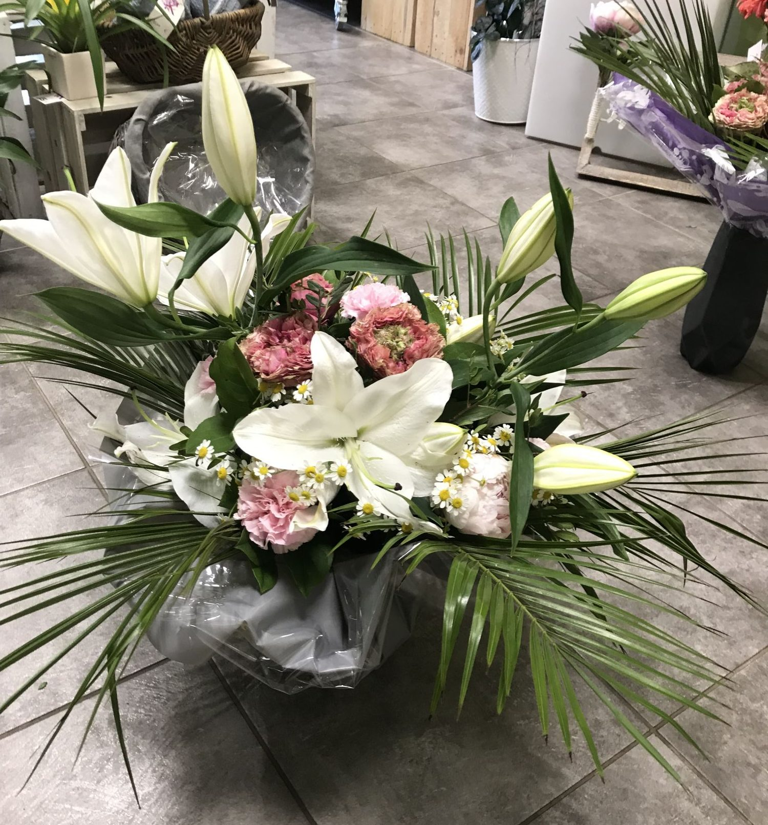 bouquet-bulle-lys-blanc