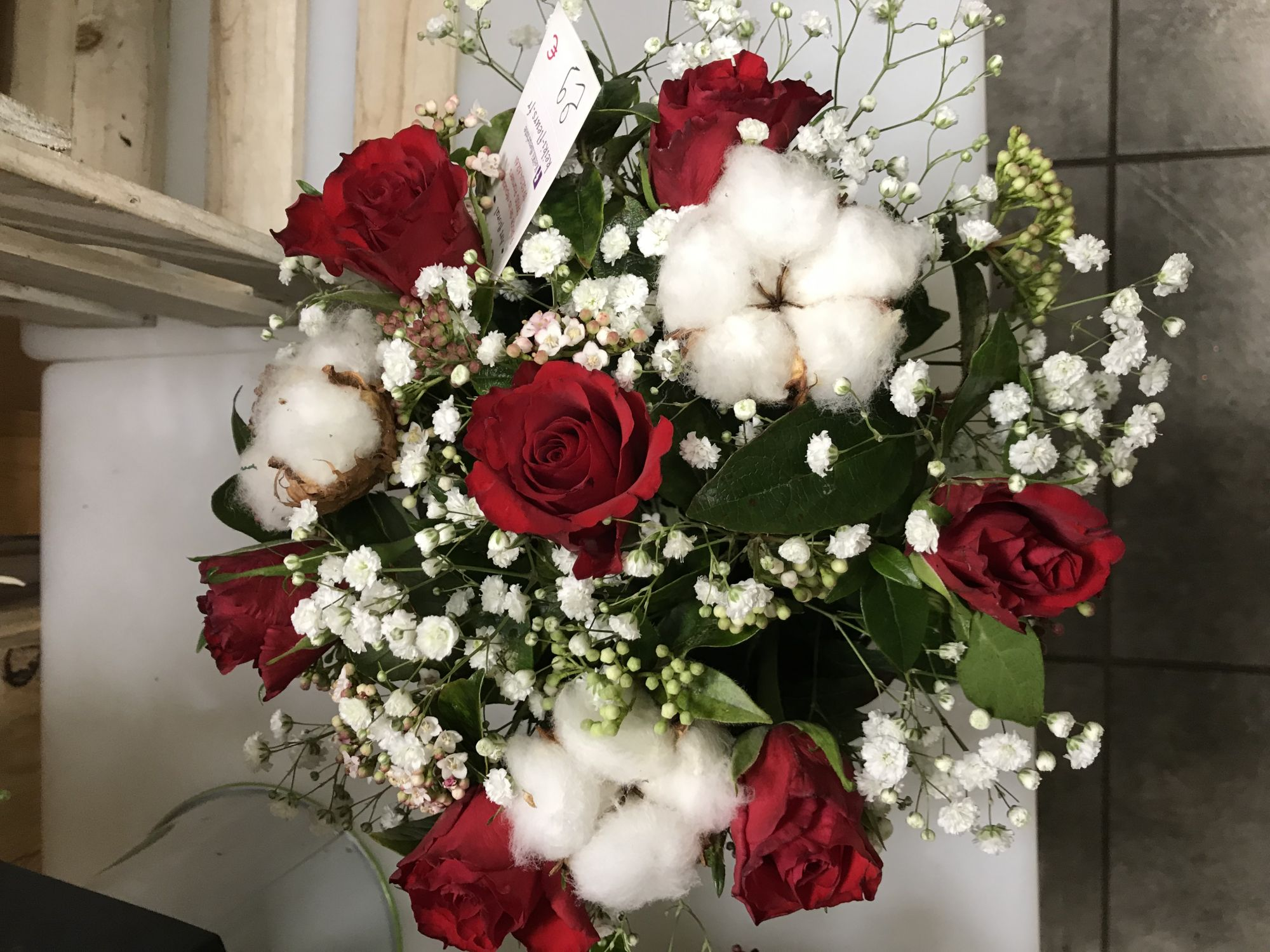 Bouquet Fleur De Coton Keiki Livraison De Fleurs Gratuites A Pamiers